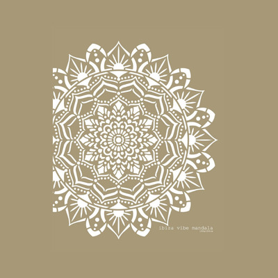 Schablone Mandala   Ibiza Carpet