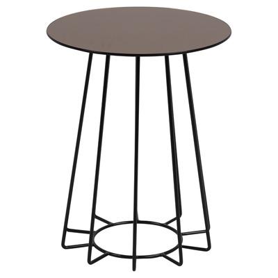 Couchtisch Casia Glas | Bronze & Schwarz