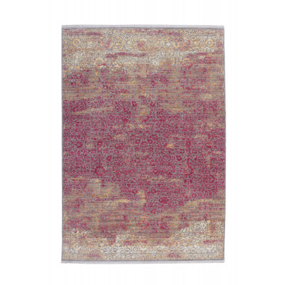 Teppich Antigua 200 | Orange - Rot