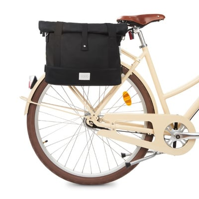 Satchel Fahrradtasche City | Schwarz