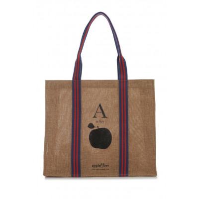 Öko-Einkaufstasche Apfel