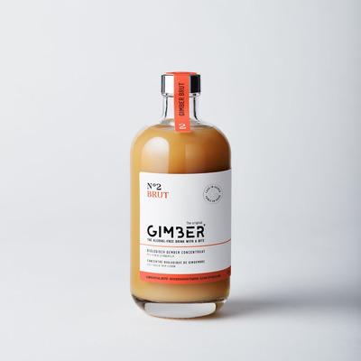 Alkoholfreies Ingwergetränk GIMBER 500 ml
