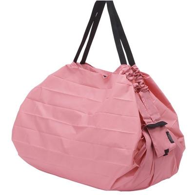 Compact Foldable Shopping Bag Peach (Momo) | L (15 kg/ 40 L)