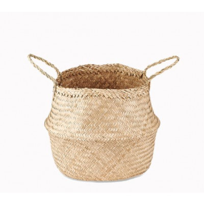 Ekuri Basket Medium   Natural