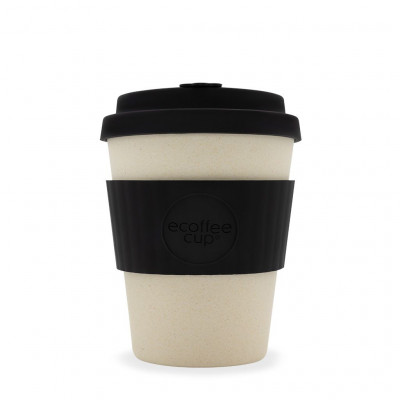 Bamboo Coffee Cup | Black Nature