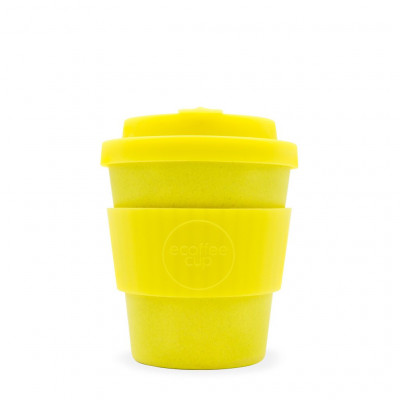 Bamboo Coffee Cup | Yellow