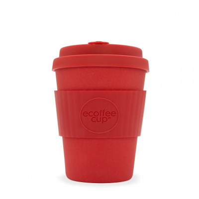 Bamboo Coffee Cup | Red