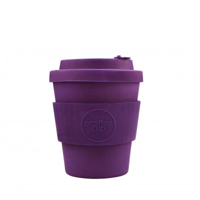 Bamboo Coffee Cup | Purple