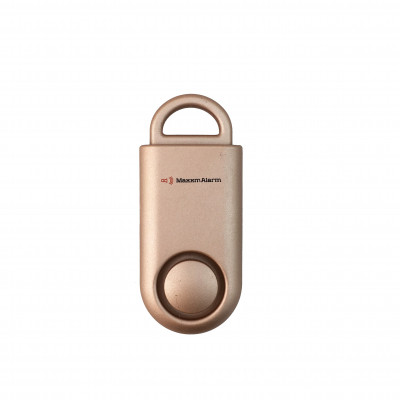 Tragbare Personen-Notsignalanlage Eco Maxx | Matt Rosa Gold