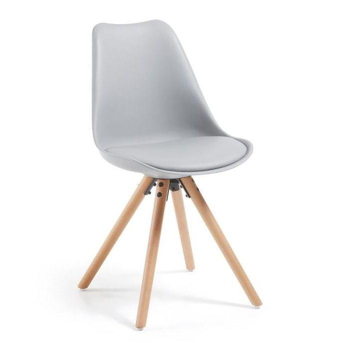 Lars Chair | Grey & Wood