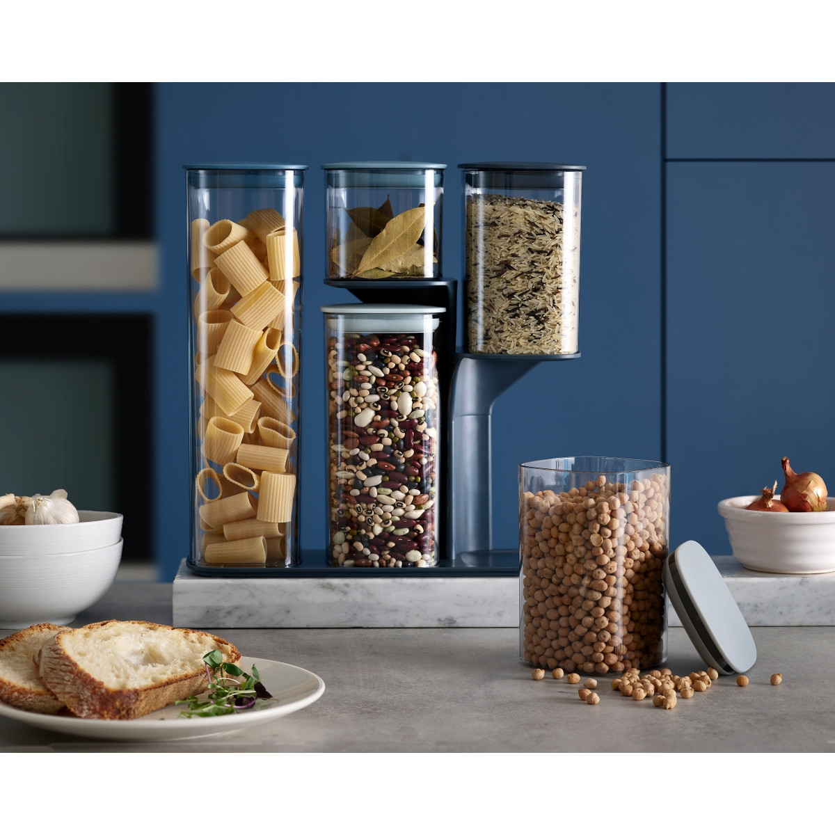 Vorratsbehälter für Lebensmittel Podium | 5er-Set
