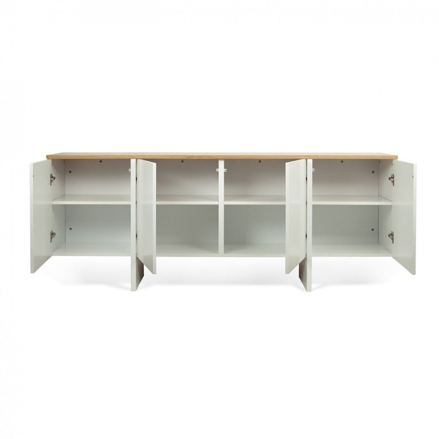 Sideboard Edge   Oak/White