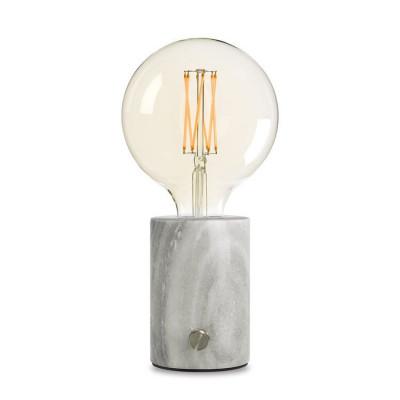 Lampe Orbis | Grauer Marmor