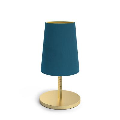 Lampe Dandy   Blau Peacock
