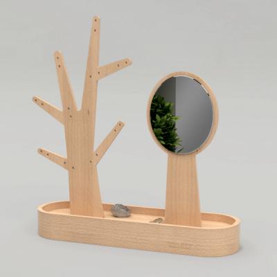 Eden-Schmuckbaum und Spiegel