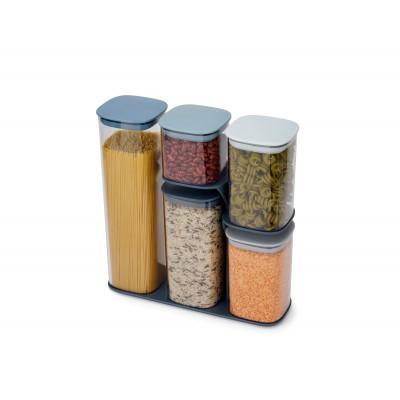 Food Storage Containers Podium Set of 5