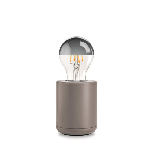 Lamp Cement Base   Fawn