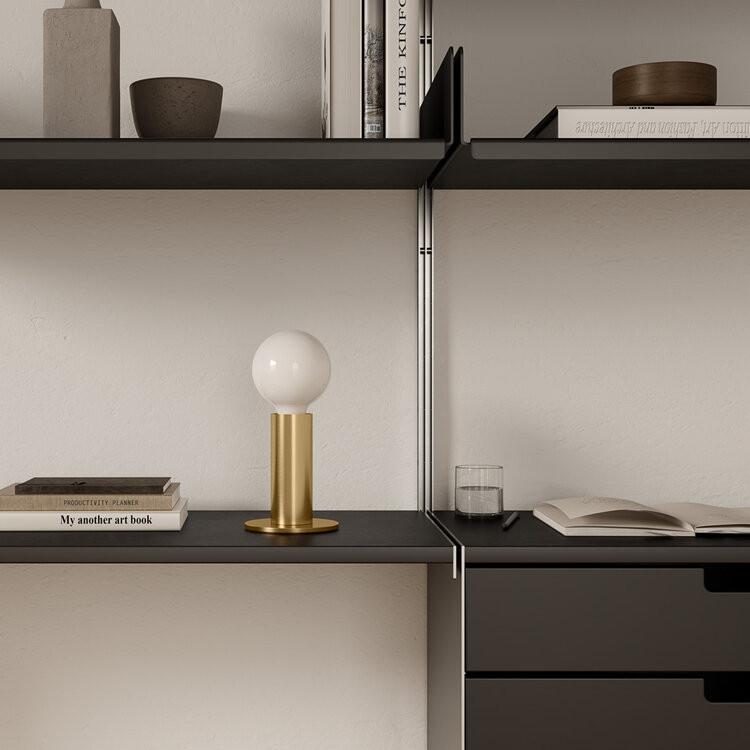 Lampe Sol   Gold-Lichtundurchlässig