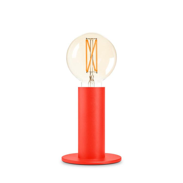 Lampe Sol   Mohnrot