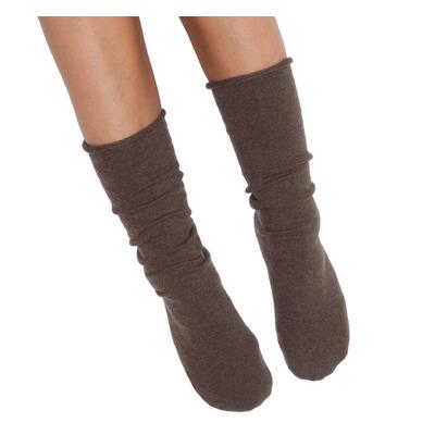 Socken Eine Größe | Dunkelbraun
