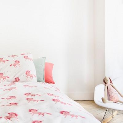 Unicorn & Stars Print Bed Linen