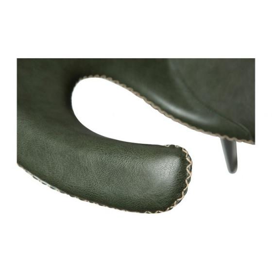 Stuhl Flair Kunstleder | Vintage Green