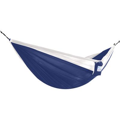 Hängematte Fallschirm - Doppel | Blau Weiß