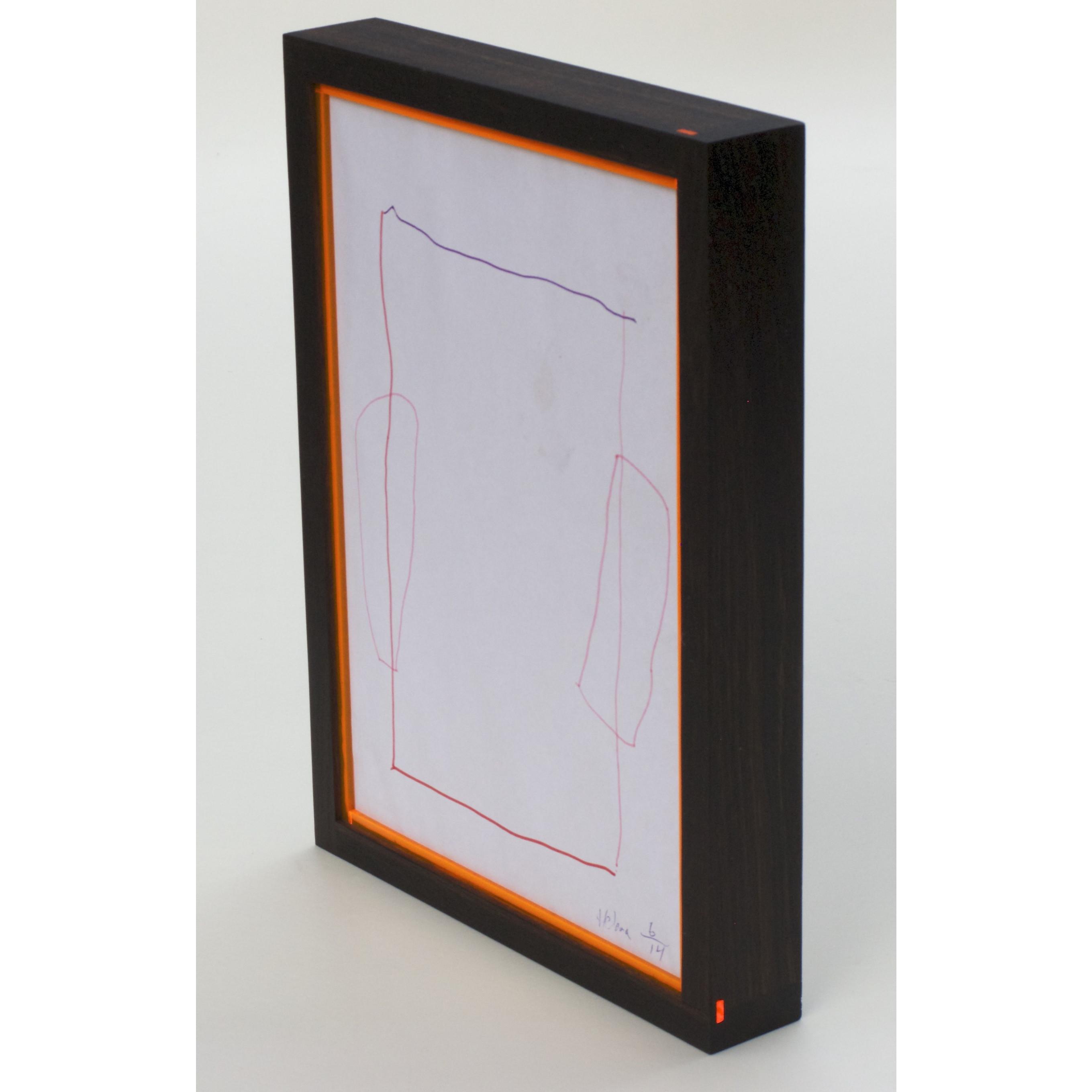 RAM'N Frame   Räuchereiche Orange