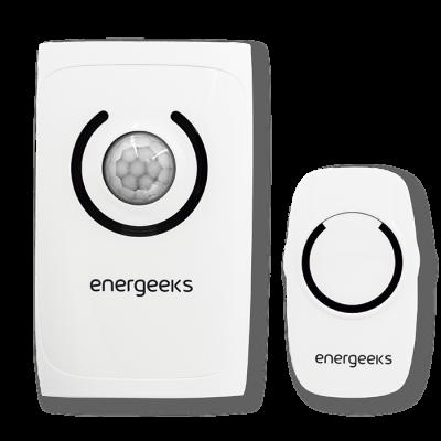 Funk-Türklingel-Alarm mit Energeeks Bewegungsmelder