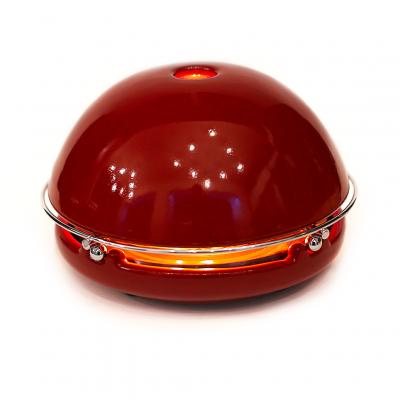 Kerzen-Raumheizer Egloo   Rot glasiert