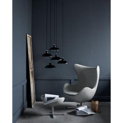 Egg Lounge Chair | Cognac-Leder