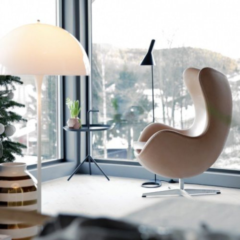 Egg Lounge Chair | Sand Divina Melange