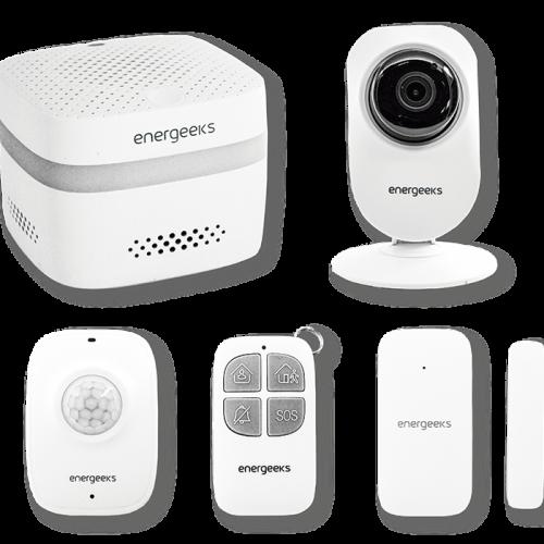Wifi-Alarmsystem + IP Kamera
