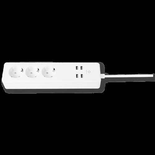 Smart Socket 3T + 4 x USB