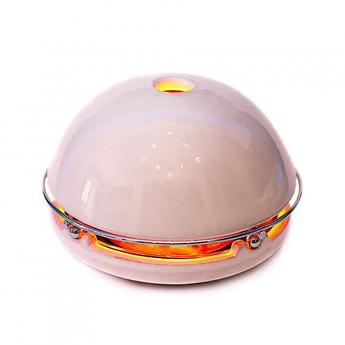 Kerzen-Raumheizer Egloo | Weiß glasiert