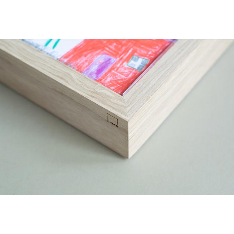 RAM'N Frame | Oak Clear Acryl