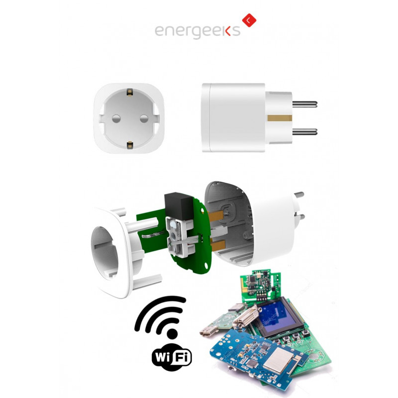 Smart wifi Connection | Multicoloured Night Light And Consumption Meter