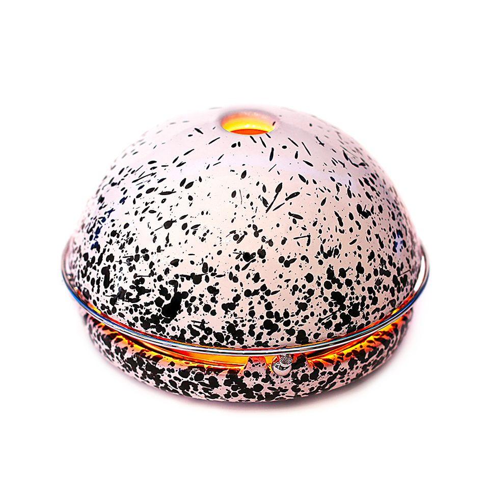 Kerzen-Raumheizer Egloo | Schwarz gespritzt