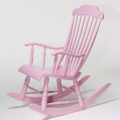 Eimi Schaukelstuhl Pink