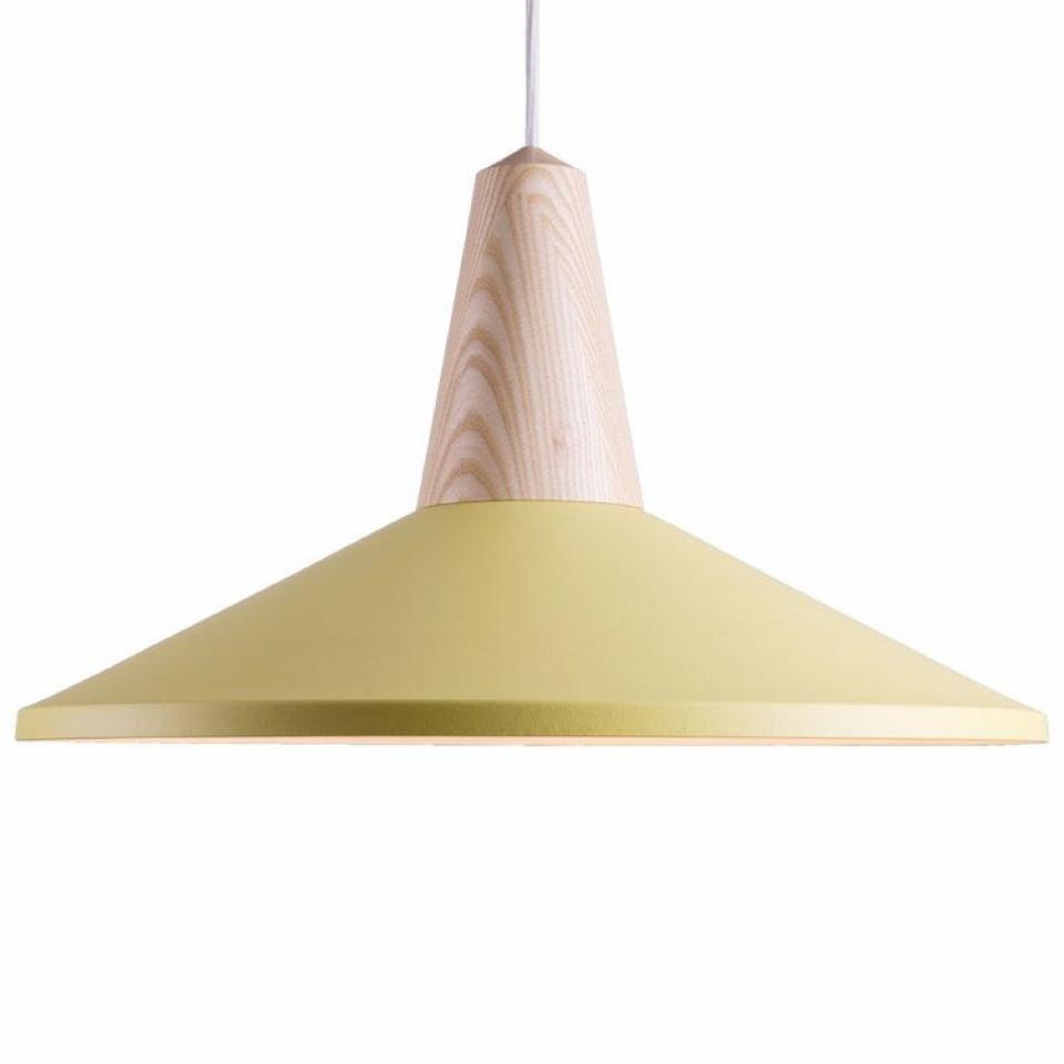 Eikon Shell Lampshade yellow