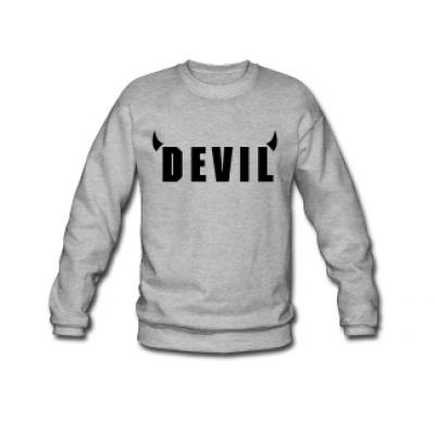 Devil Sweater Men | Grey