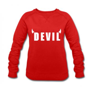 Devil Sweater Women | Red