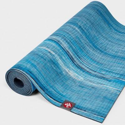 Eko® Lite Yogamatte 4mm | Dresden Marbled Blau