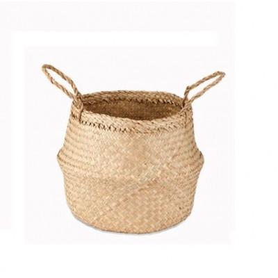 Ekuri Basket Small   Natural