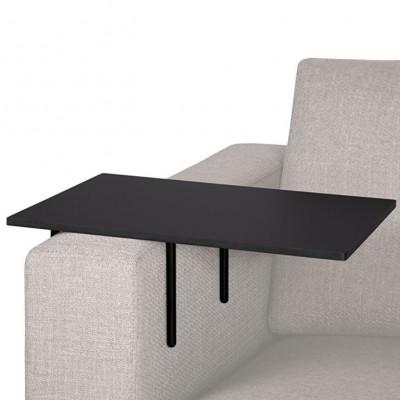 Sofa-Tisch Helper L | Schwarz