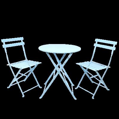 Bistro-Set für draußen   Blau