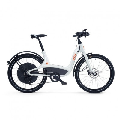 Elby E-Bike   White