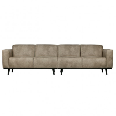 4er-sofa Statement L 280 cm | Grau