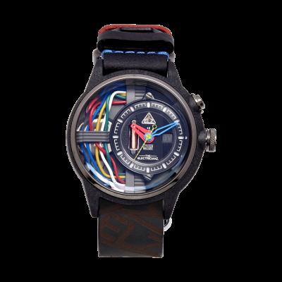 Armbanduhr The Carbon Z | Schwarz