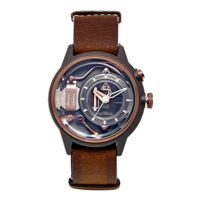 Armbanduhr The Mokaz | Braun